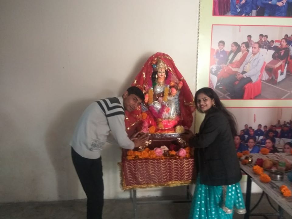 Basantpanchami Celebration in Career