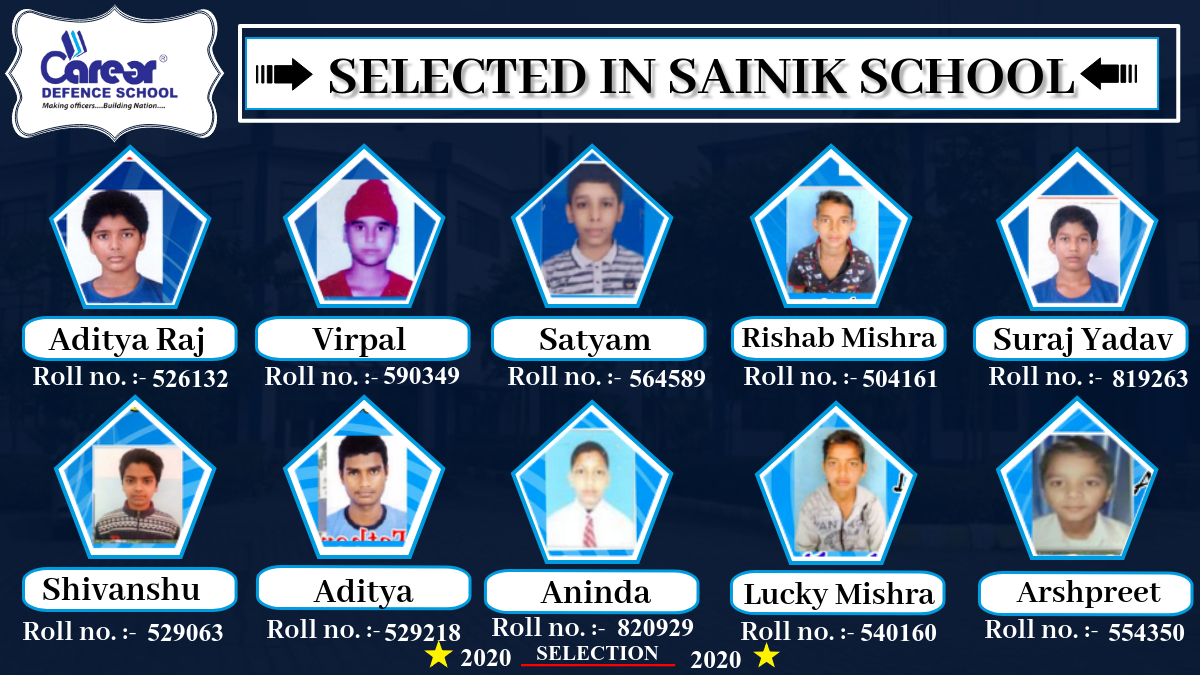 Selected student