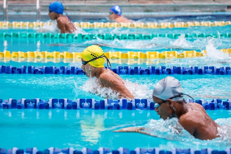 Swimming Training Images